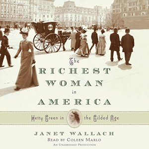The Richest Woman in America Audiobook By Janet Wallach cover art