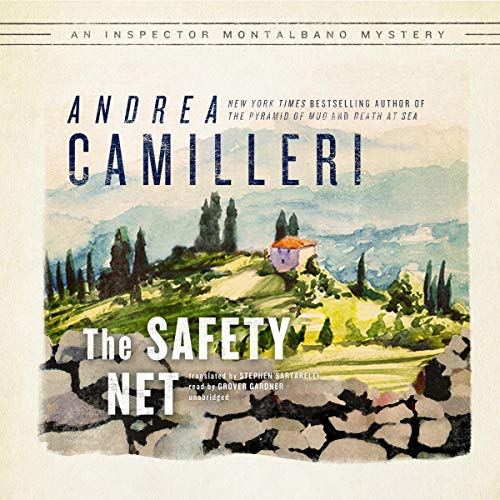 The Safety Net Audiobook By Andrea Camilleri cover art