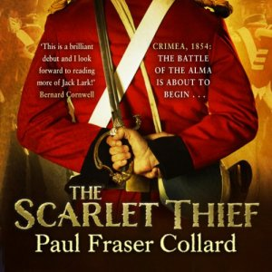 The Scarlet Thief Audiobook By Paul Fraser Collard cover art