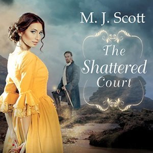 The Shattered Court Audiobook By M. J. Scott cover art