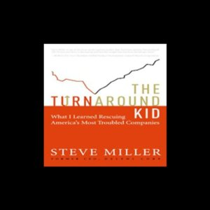 The Turnaround Kid Audiobook By Steve Miller cover art