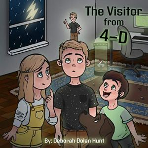 The Visitor from 4-D Audiobook By Deborah Hunt cover art