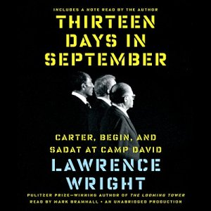 Thirteen Days in September Audiobook By Lawrence Wright cover art
