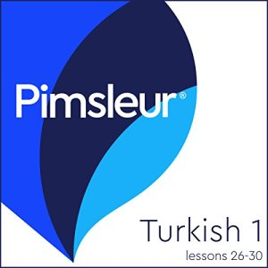 Turkish Phase 1, Unit 26-30 Audiobook By Pimsleur cover art