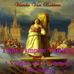 'Twin Vampire Witches' and 'A Vampire and Werewolf Twin Sisters' Audiobook By Vianka Van Bokkem cover art