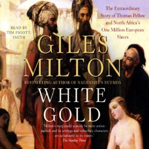 White Gold Audiobook By Giles Milton cover art