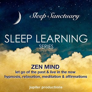 Zen Mind, Let Go Of The Past & Live In The Now: Sleep Learning, Hypnosis, Relaxation, Meditation & Affirmations Audiobook By Jupiter Productions cover art