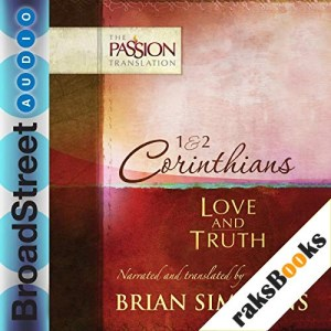 1 & 2 Corinthians: Love and Truth Audiobook By Brian Simmons cover art