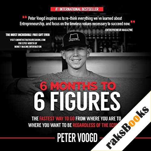 6 Months to 6 Figures Audiobook By Peter J. Voogd cover art