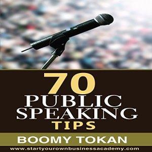 70 Public Speaking Tips Audiobook By Boomy Tokan cover art