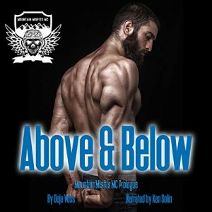 Above and Below Audiobook By Deja Voss cover art