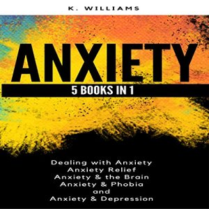 Anxiety: 5 Books in 1: All About Anxiety, Book 8 Audiobook By K. Williams cover art