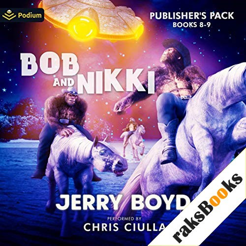 Bob and Nikki: Publisher's Pack 4 Audiobook By Jerry Boyd cover art