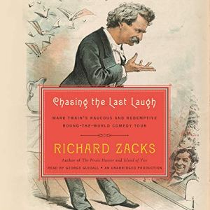 Chasing the Last Laugh Audiobook By Richard Zacks cover art
