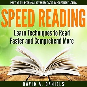 Comprehension Speed Reading Audiobook By David A. Daniels cover art