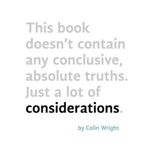 Considerations Audiobook By Colin Wright cover art