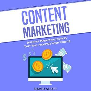 Content Marketing: Internet Marketing Secrets That Will Maximize Your Profits Audiobook By David Scott cover art