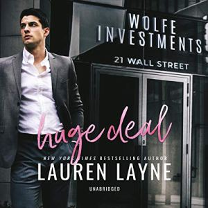 Huge Deal Audiobook By Lauren Layne cover art
