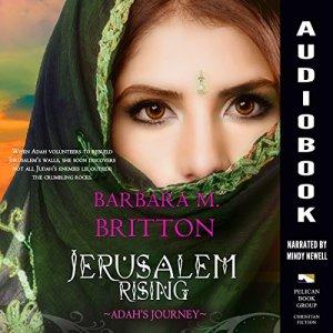 Jerusalem Rising Audiobook By Barbara M. Britton cover art