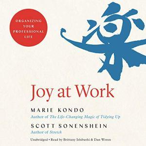 Joy at Work Audiobook By Marie Kondo, Scott Sonenshein cover art