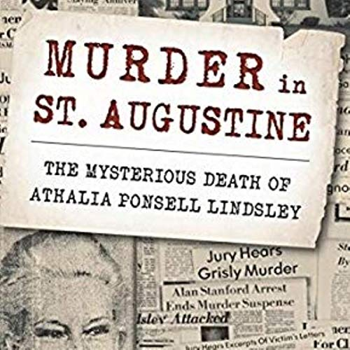 Murder in St. Augustine Audiobook By Elizabeth Randall cover art