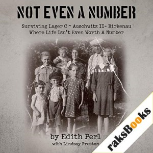Not Even a Number Audiobook By Edith Perl cover art