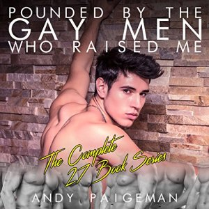 Pounded by the Gay Men Who Raised Me: The Complete 27 Book Series Audiobook By Andy Paigeman cover art