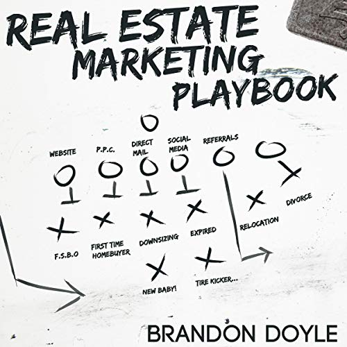 Real Estate Marketing Playbook Audiobook By Brandon Doyle cover art