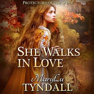 She Walks in Love Audiobook By MaryLu Tyndall cover art