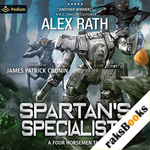 Spartan's Specialists Audiobook By Alex Rath cover art