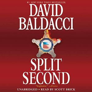 Split Second Audiobook By David Baldacci cover art