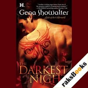 The Darkest Night Audiobook By Gena Showalter cover art
