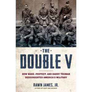 The Double V Audiobook By Rawn James Jr. cover art