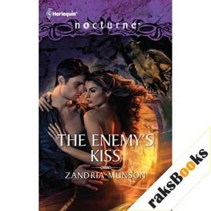 The Enemy's Kiss Audiobook By Zandria Munson cover art