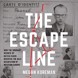The Escape Line Audiobook By Megan Koreman cover art