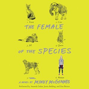 The Female of the Species Audiobook By Mindy McGinnis cover art