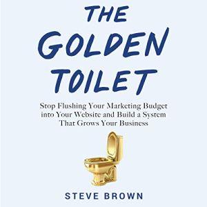 The Golden Toilet Audiobook By Steve Brown cover art