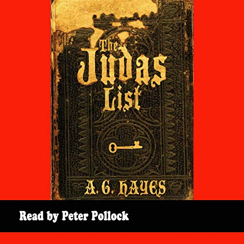 The Judas List Audiobook By A.G. Hayes cover art