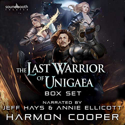 The Last Warrior of Unigaea: Box Set Audiobook By Harmon Cooper cover art