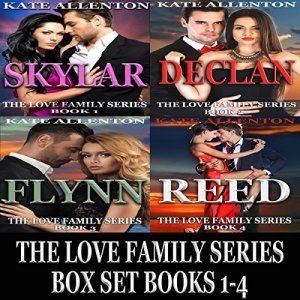 The Love Family Series Box Set, Books 1-4 Audiobook By Kate Allenton cover art