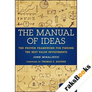 The Manual of Ideas Audiobook By John Mihaljevic cover art
