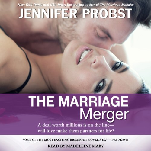 The Marriage Merger Audiobook By Jennifer Probst cover art