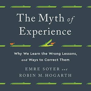 The Myth of Experience Audiobook By Emre Soyer, Robin M Hogarth cover art