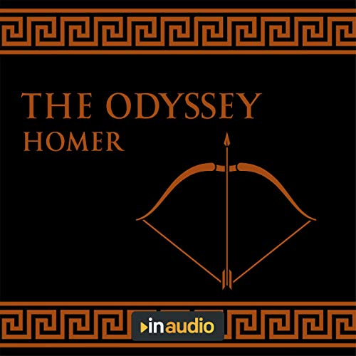 The Odyssey Audiobook By Homer cover art