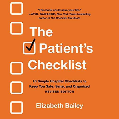 The Patient's Checklist Audiobook By Elizabeth Bailey cover art