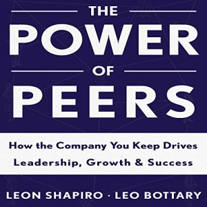 The Power of Peers Audiobook By Leon Shapiro, Leo Bottary cover art