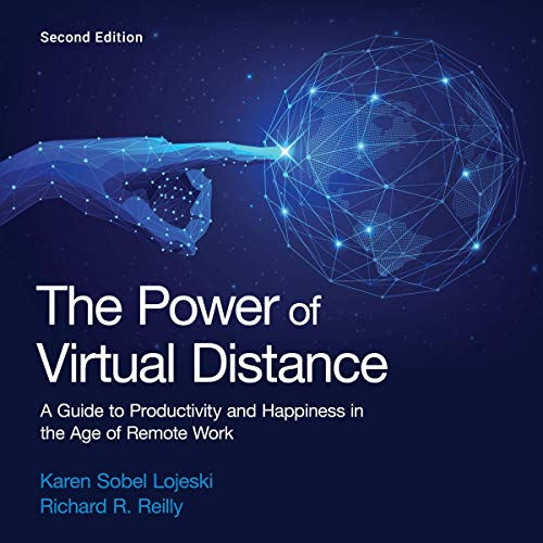 The Power of Virtual Distance Audiobook By Karen Sobel Lojeski, Richard R. Reilly cover art