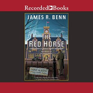 The Red Horse Audiobook By James R. Benn cover art