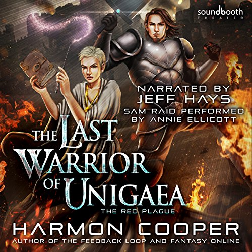 The Red Plague: A LitRPG Trilogy Audiobook By Harmon Cooper cover art