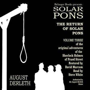 The Return of Solar Pons Audiobook By August Derleth cover art